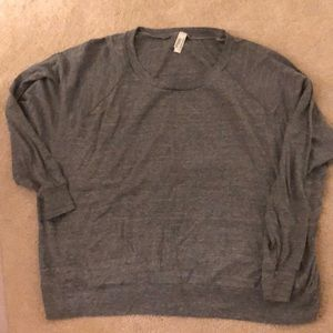 American apparel pull over sz L